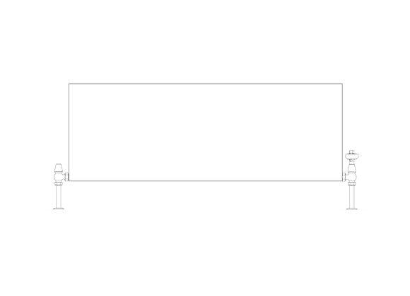Faraday Type 11 500 x 1400 (3907 BTU's)