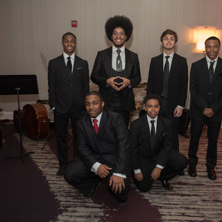Duke Ellington HS Jazz group performed