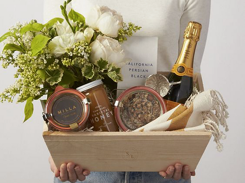 Luxury gift basket for him