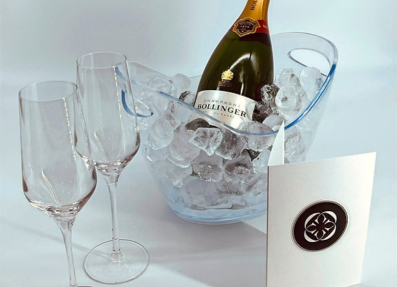 Bollinger Special Cuvée Champagne on ice - ready to serve
