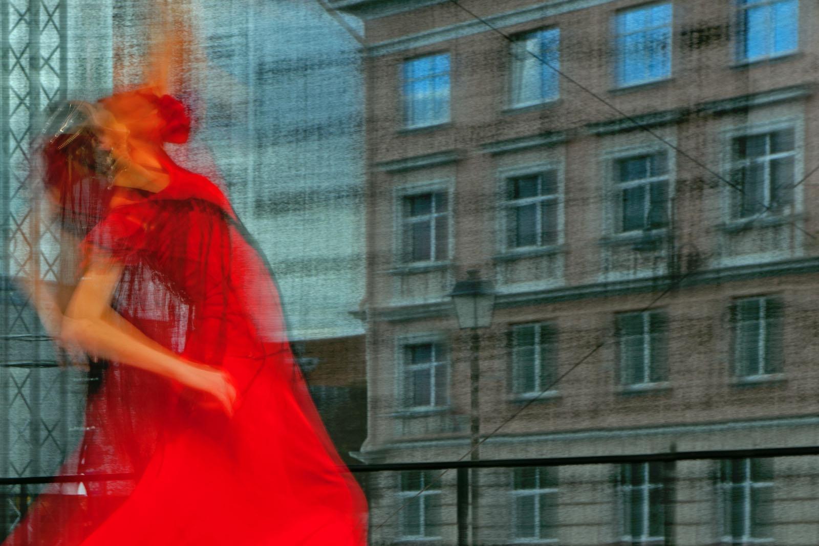 Eitan Vitkon Urban Dance 100x150cm