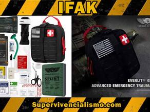"¿Qué es un IFAK ""Individual First Aid Kit"""