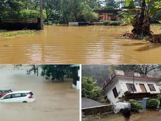 India: El río se lo llevó todo! cientos de personas pierden sus hogares