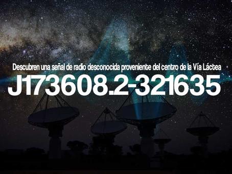 Descubren una señal de radio desconocida proveniente del centro de la Vía Láctea
