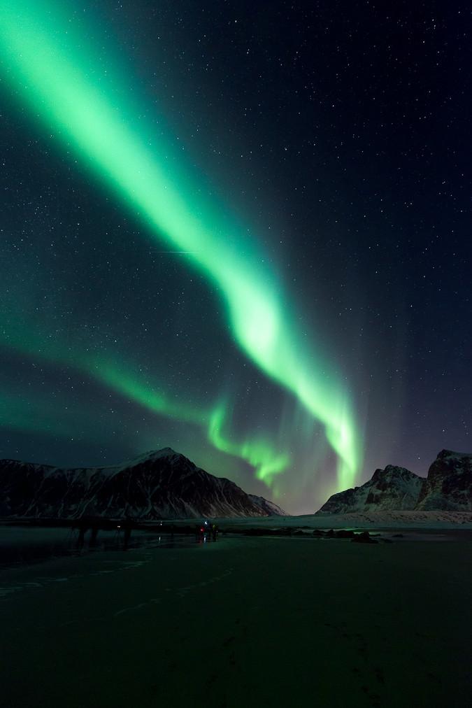 Norway Lights - Vertical