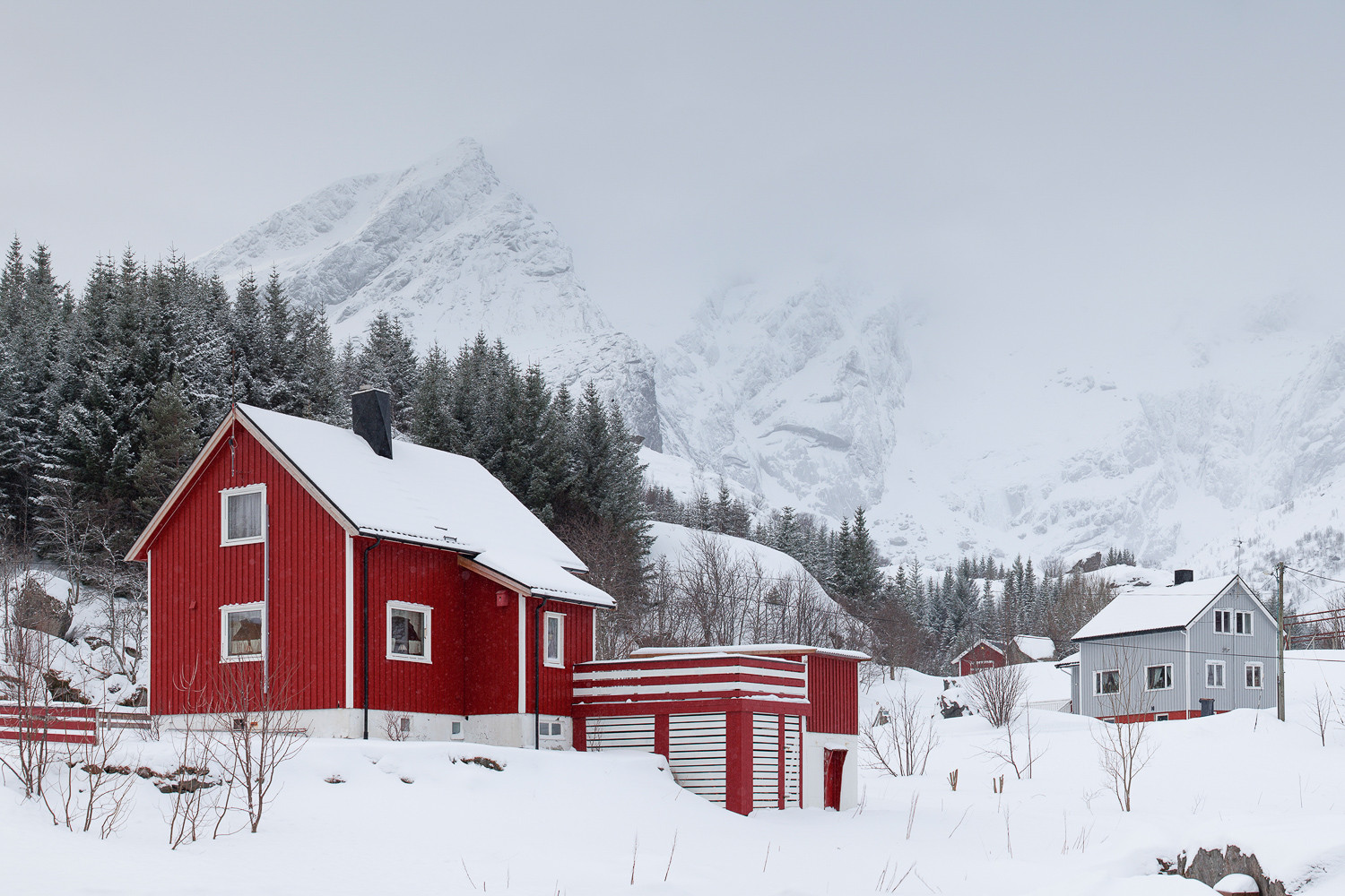 Red House in Nusfjord
