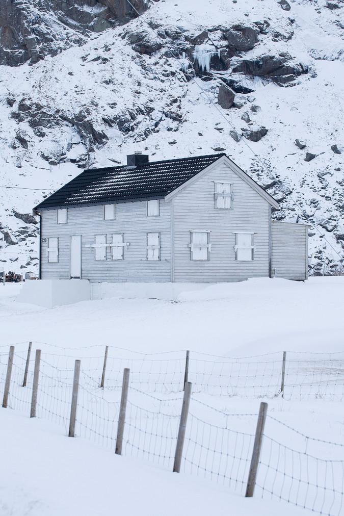 Ice House in Uttakleiv