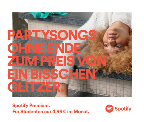 SPOTIFY Back to School print / OOH