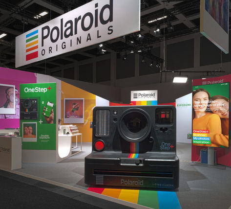 POLAROID ORIGINALS exhibit design IFA 2018