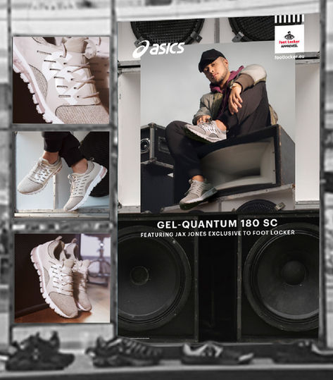 ASICS JAX JONES x FOOTLOCKER retail