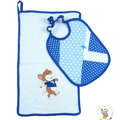 SET FANTASTIX - BLUEJAZ - bavaglino e asciugamano
