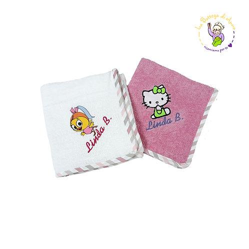 Asciugamano Bambina
