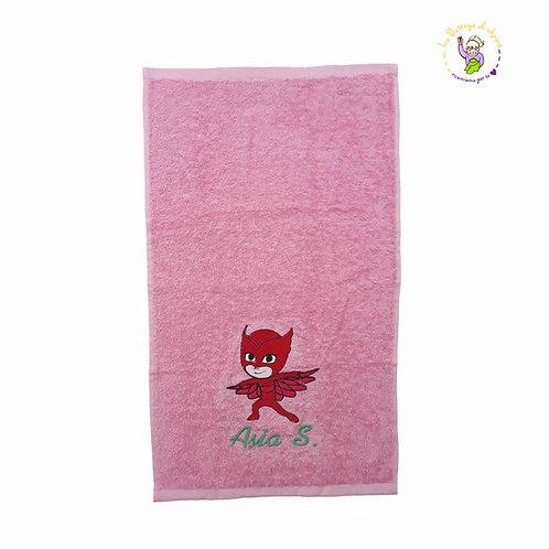 Asciugamano in spugna di cotone Gufetta
