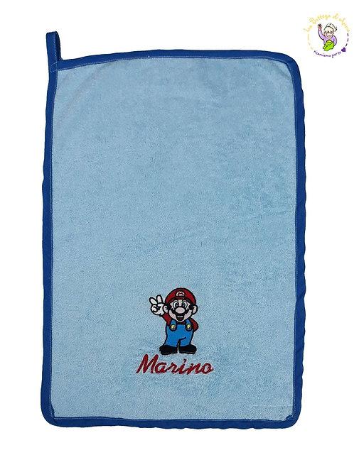 Asciugamano in spugna di cotone Super Mario