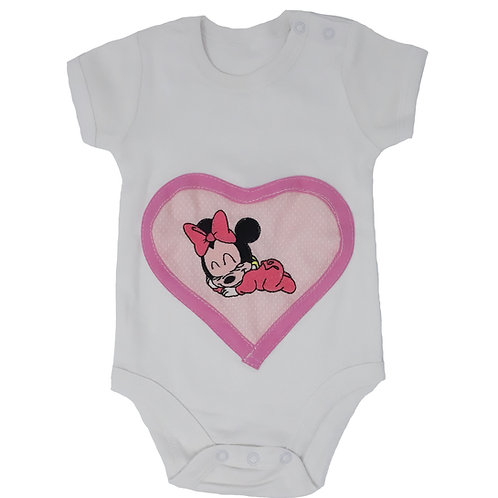 BODY con ricamo baby Minnie