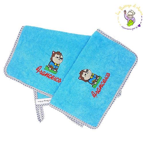 Asciugamano in spugna di cotone Gattino Paw Patrol