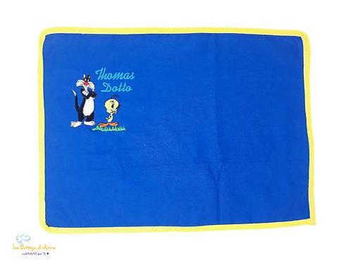 TOVAGLIETTA ALL'AMERICANA color blu - Titti e Silvestro