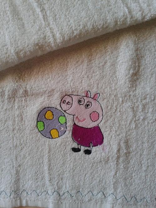 ASCIUGAMANO COTONE PEPPA PIG