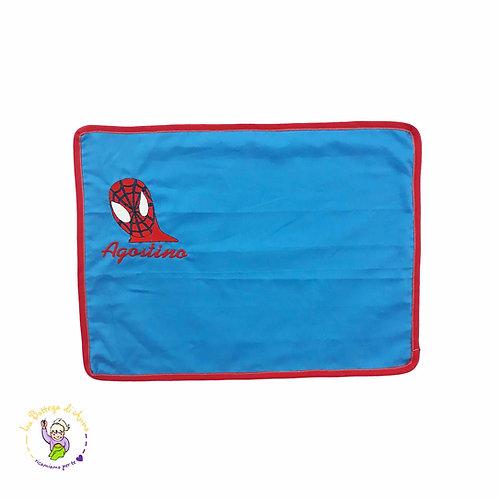 TOVAGLIETTA ALL'AMERICANA color blu - Spiderman
