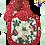 Thumbnail: Bavaglino con lacci natalizio