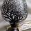 Thumbnail: 'Winter' Hand Painted Brandy / Snifter Glass