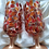 Thumbnail: 'Copper Leaves' Hand Painted Craft Ale/Beer Glass