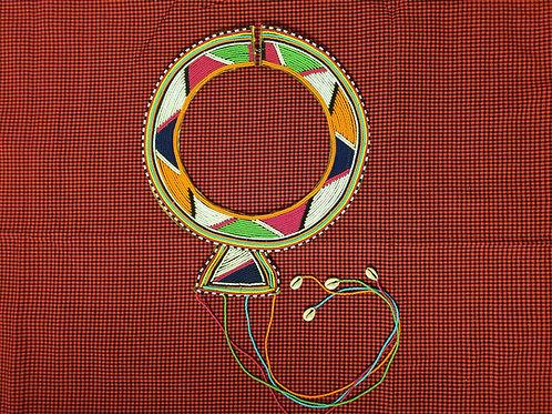 Women's Maasai Decorative Ceremonial Necklace