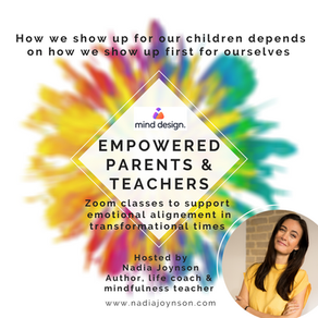 Well-being for parents and teachers