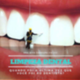 Limpeza Dental, profilaxia