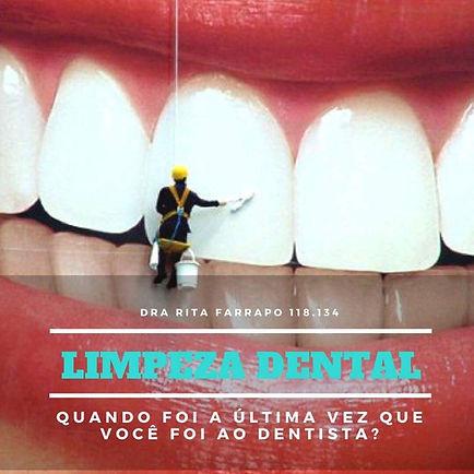 Limpeza Dental, profilaxia