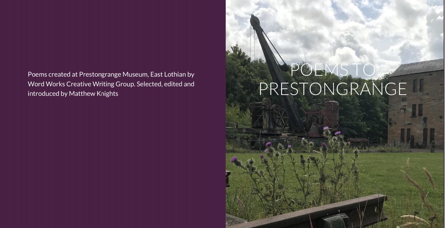 Poems to Prestongrange
