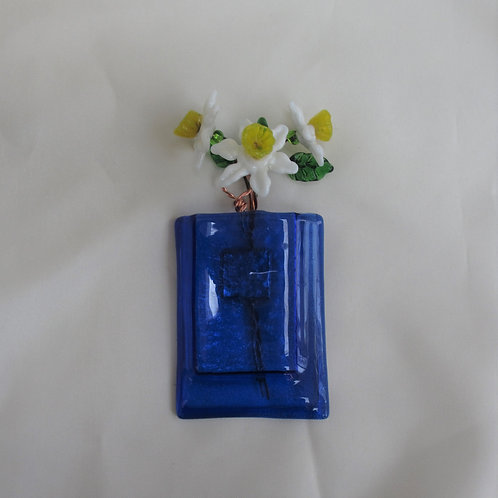 Cobalt Blue Mini-Vase