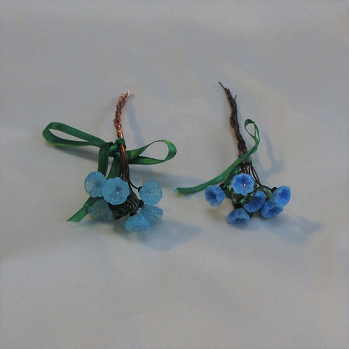 Mini-Bouquets in Turquoise