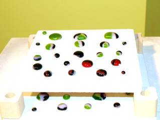 Making Swirly Fused Glass Pieces - Day 4