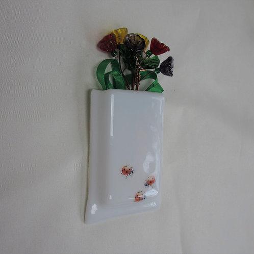 Mini-Vase with Ladybugs