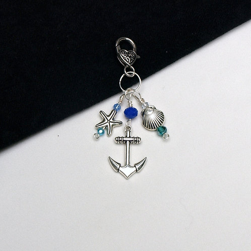 Sea Life Dangle - Starfish, Scallop, Anchor