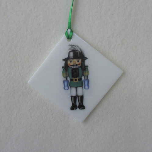Double-sided Nutcracker Ornament
