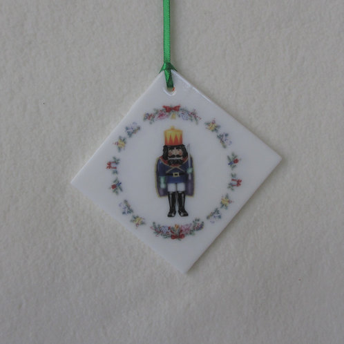 Double-sided Nutcracker Ornament