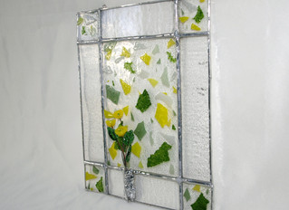 Combining Glass Techniques: Fused Glass, Lampworking, and Stained Glass