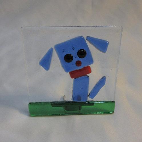 Blue Dog Night Light