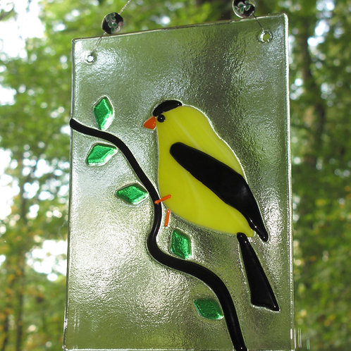 Goldfinch Suncatcher
