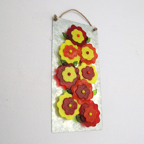 Bright Flowers Wallhanging