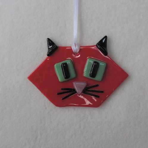 Cat - Red Face and Black Ears