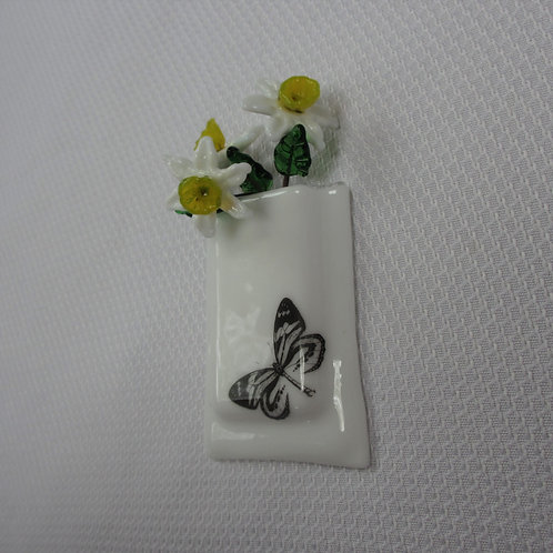 Mini-vase with Butterfly