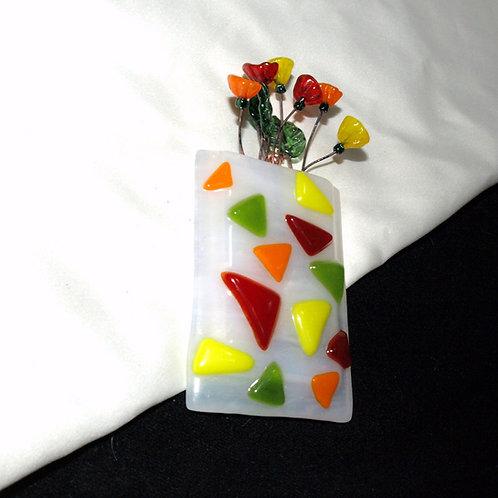 Fall Colors Mini-vase