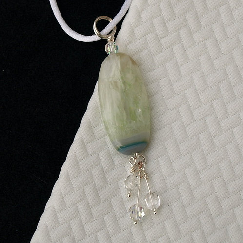 Green Crystalline Necklace