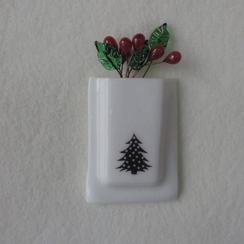 Christmas Tree Mini-vase