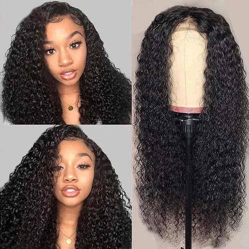 Linda - Deep Curly Lace Front/Closure  Pre Plucked