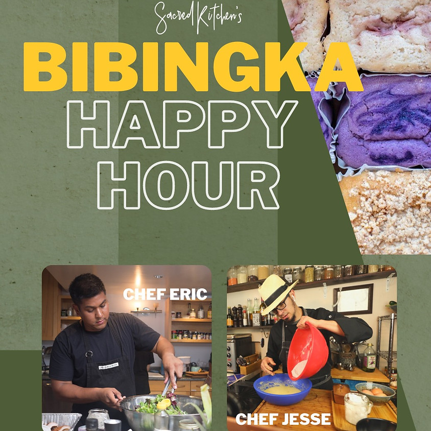 Bibingka Happy Hour with Chef Eric Pascual | Virtual & In Person