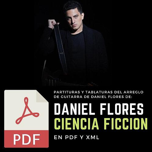 TABLATURAS de CIENCIA FICCIÓN (Arreglo de Guitarra de Daniel Flores)
